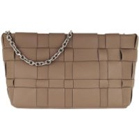 3.1 Phillip Lim Clutch Odita Lattice Pouch Coffee - in braun - Abendtasche für Damen