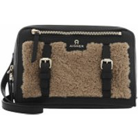 AIGNER Clutch Crossbody Bag   Cedar Brown - in schwarz - Abendtasche für Damen