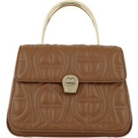 AIGNER Handtaschen Genoveva Handle Bag Dark Toffee Brown - in braun - Henkeltasche für Damen