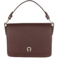 AIGNER Handtaschen Tara Shoulder Bag Bitter Chocolate Brown - in braun - Henkeltasche für Damen