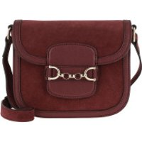 Abro Crossbody Bags Diana Crossboy Bag Small Bordeaux - in rot - Umhängetasche für Damen