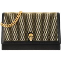 Alexander McQueen Clutch Skull Crossbody Bag Black - in schwarz - Abendtasche für Damen