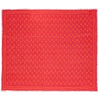 Alexander McQueen  Night Flower Scarf Lacquerred - in rot - Schal für Damen