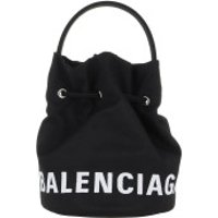 Balenciaga Bucket Bags Wheel Drawstring Bag Black - in schwarz - Umhängetasche für Damen