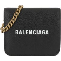 Balenciaga Crossbody Bags Cash Wallet On Chain Black White - in schwarz - Umhängetasche für Damen