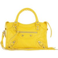 Balenciaga Crossbody Bags Classic Mini City Arena Crossbody Yellow - in gelb - Umhängetasche für Damen