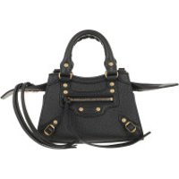 Balenciaga Crossbody Bags Neo Classic City Nano Bag Grained Calfskin Black - in schwarz - Umhängetasche für Damen