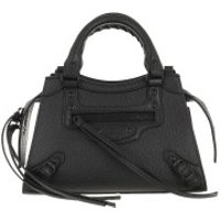 Balenciaga Crossbody Bags Neo Classic Mini Top Handle Bag Leather Black - in schwarz - Umhängetasche für Damen