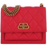 Balenciaga Crossbody Bags Quilted Shoulder Bag Leather Bright Red - in rot - Umhängetasche für Damen