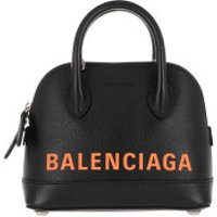 Balenciaga Crossbody Bags Ville XXS Satchel Bag Leather Black/Fluo Orange - in schwarz - Umhängetasche für Damen