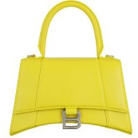 Balenciaga Handtaschen Hourglass Small Handle Bag Yellow - in gelb - Henkeltasche für Damen