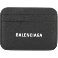 Balenciaga Wallet Card Holder Grained Black White - in schwarz - Portemonnaie für Damen