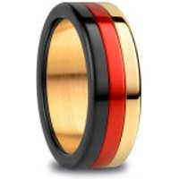 Bering  Arctic Symphony Ring  Black Red Gold - in bunt - Armbanduhr für Damen
