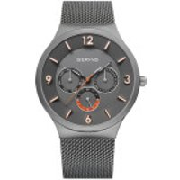Bering  Watch Classic Men Grau - in gunmetal - Armbanduhr für Damen