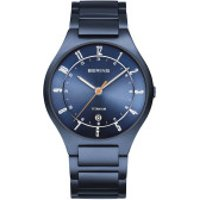 Bering  Watch TitaniumMen Blue - in blau - Armbanduhr für Damen