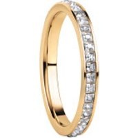 Bering  Women Ring Stainless Steel  Gelbgold - in yellow gold - Armbanduhr für Damen