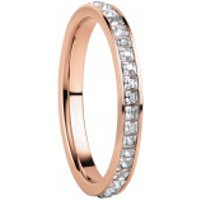 Bering  Women Ring Stainless Steel  Roségold - in rose gold - Armbanduhr für Damen