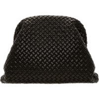 Bottega Veneta Clutch The Pouch Hand Bag Leather Black - in schwarz - Abendtasche für Damen