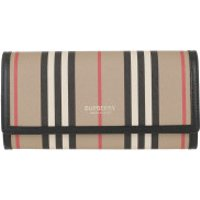 Burberry Wallet Striped Continental Wallet Archive Beige - in beige - Portemonnaie für Damen