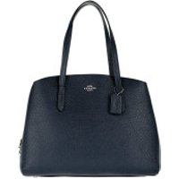 Coach Handtaschen Polished Pebble Leather Charlie 40 Handle Bag Blue Navy - in marine - Henkeltasche für Damen