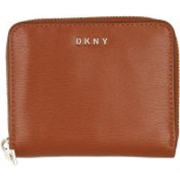 DKNY Wallet Bryant Small Zip Around Caramel - in braun - Portemonnaie für Damen