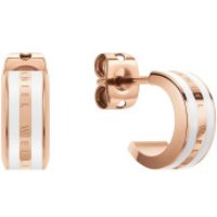 Daniel Wellington  Emalie Earrings Rose G. White Roségold - in rose gold - Armbanduhr für Damen