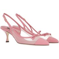 Dolce&Gabbana High Heels Lori Slingback Pumps Rose - in rosa - für Damen