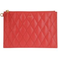 Givenchy Clutch Quilted Pouch Leather Red - in rot - Abendtasche für Damen