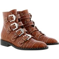Givenchy Stiefel & Stiefeletten Studded Ankle Boots Leather Brown - in cognac - für Damen