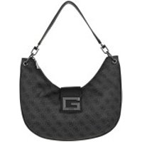 Guess Crossbody Bags Brightside Large Hobo Bag Coal - in grau - Umhängetasche für Damen