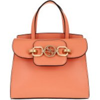 Guess Crossbody Bags Hensely Mini Satchel Bag Coral - in rot - Umhängetasche für Damen