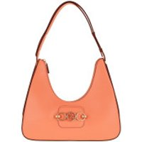 Guess Crossbody Bags Hensley Hobo Bag Coral - in orange - Umhängetasche für Damen