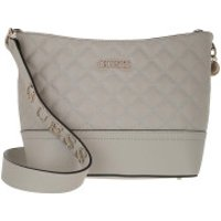 Guess Crossbody Bags Illy Bucket Bag Grey - in beige - Umhängetasche für Damen