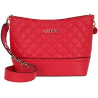 Guess Crossbody Bags Illy Bucket Bag Red - in rot - Umhängetasche für Damen