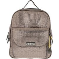 Guess Crossbody Bags Lane Large Backpack Pewter - in silber - Umhängetasche für Damen