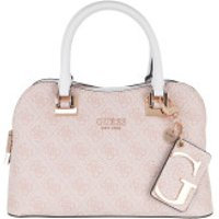 Guess Handtaschen Mika Small Girlfriend Satchel Bag Blush - in rosa - Henkeltasche für Damen