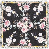 Guess  Printed Foulard 90X90 Black - in bunt - Schal für Damen