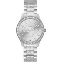 Guess  Women Quartz Watch Anna Silver - in silber - Armbanduhr für Damen