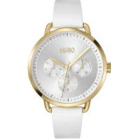 Hugo  Mellow Watch White Gold - in weiß - Armbanduhr für Damen