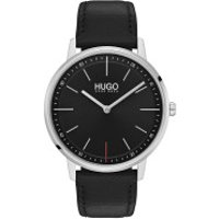 Hugo  Men Quartz Watch Exist Black - in schwarz - Armbanduhr für Damen