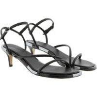 Isabel Marant  Apica Sandals Leather Black - in schwarz - Sandalen für Damen