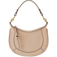 Isabel Marant Crossbody Bags Naoko Crossbody Bag Leather Light Beige - in beige - Umhängetasche für Damen