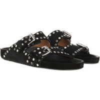Isabel Marant  Lennyo Sandals Black - in schwarz - Loafers für Damen