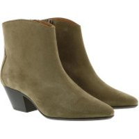 Isabel Marant Stiefel & Stiefeletten Dacken Heeled Boots Leather Taupe - in braun - für Damen