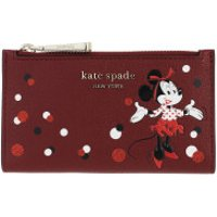 Kate Spade New York Wallet Small Minnie Mouse Bi Fold Wallet Red Multicolor - in rot - Portemonnaie für Damen