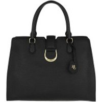 Lauren Ralph Lauren Handtaschen Kenton City Satchel Bag Medium Black - in schwarz - Henkeltasche für Damen