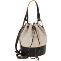 Loewe Bucket Bags Balloon Bag Leather Natural/Black - in beige - Umhängetasche für Damen