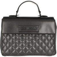 Love Moschino Handtaschen Shoulder Bag Quilted Faux Leather Silver - in grau - Henkeltasche für Damen