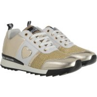 Love Moschino Turnschuhe Sneaker Running Multicolor - in gold - Sneakers für Damen