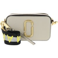 Marc Jacobs Crossbody Bags Logo Strap Snapshot Small Camera Bag Leather Grey - in grau - Umhängetasche für Damen